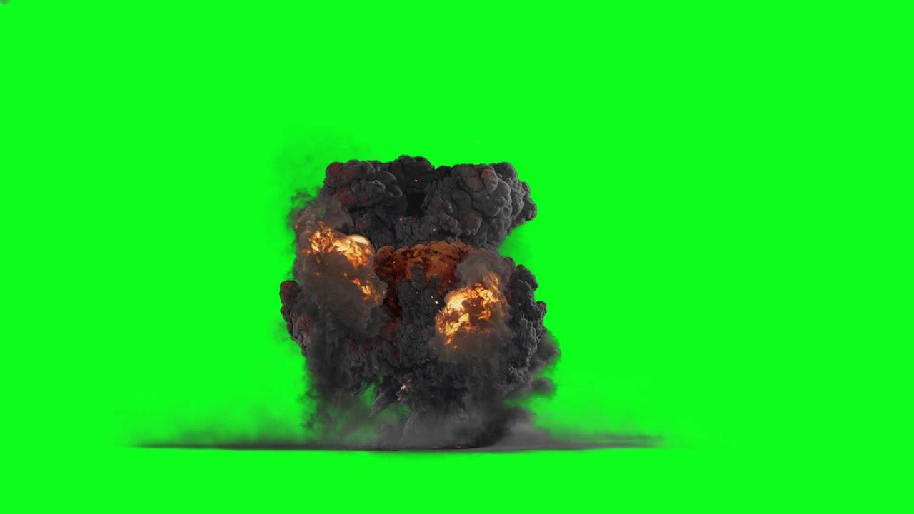 Pantalla Verde Croma Explosiones Perfectas Y Sonido