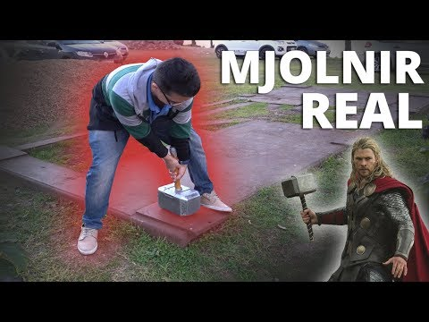 Martillo de Thor (Mjolnir) Electroiman de +250KG!