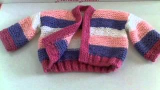 Suéter de trico para bebe 3