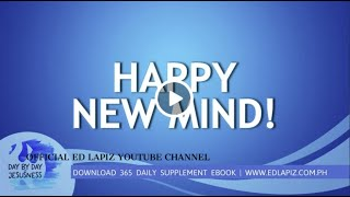 Ed Lapiz - HAPPY NEW MIND!  /Latest Sermon Review New Video (Official Channel 2020)