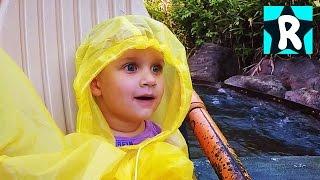 Влог День Рождения Ромы Идем в Диснейленд Animal Kingdom в Подарок Америка Орландо Видео для Детей