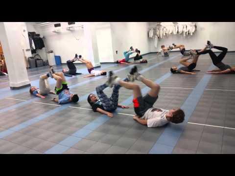 April's workout challenge at Manhattan Fencing Center