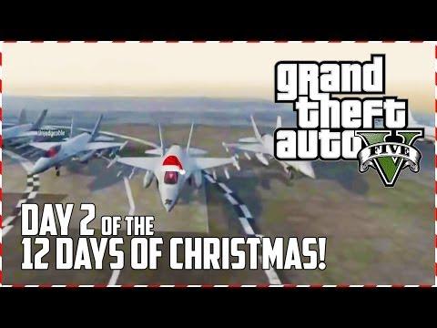 GTA 5 Online - Reindeer Dash! (Day 2 of 12) (GTA V)