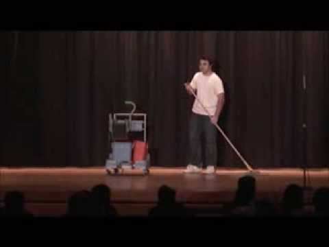 Spongebob Mopping Reenacted Live from quot;Culture Shockquot;  YouTube