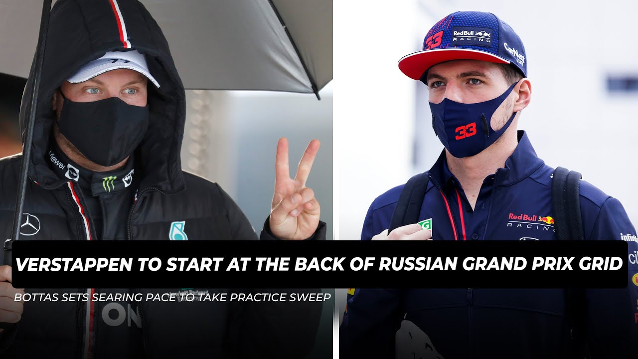 Bottas hit with Russian GP grid penalty after F1 engine change