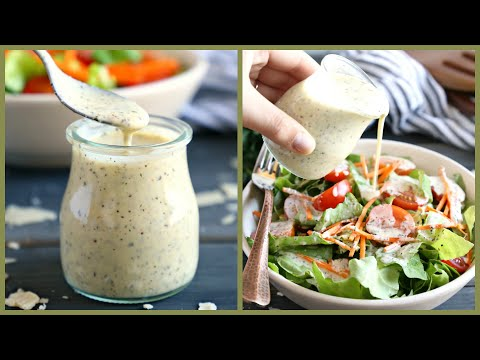 How to Make Homemade Classic Creamy Italian Salad Dressing