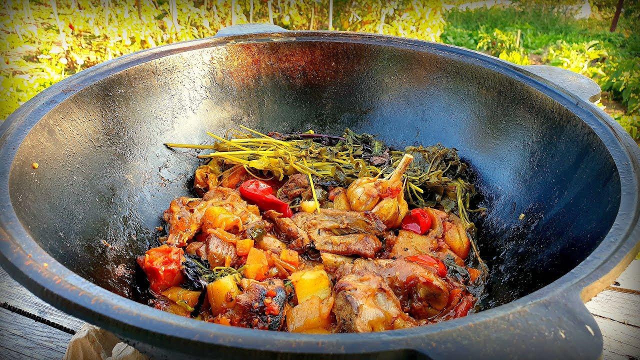 истории рецепты блюд в казане с фото может