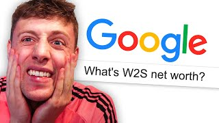 GOOGLING MYSELF (W2S Net Worth Reveal)