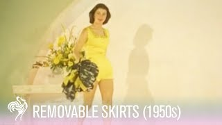 Removable Skirts - Late 1950s Fashion Trend!
