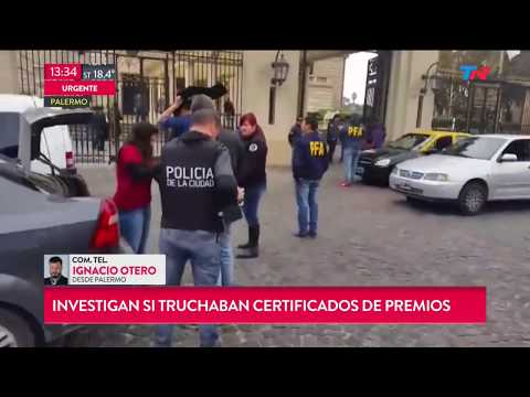 Allanamientos en el Hipódromo de Palermo y el Casino Flotante de Puerto Madero
