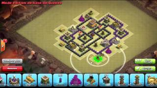 VILLAGE HDV7 GDC ANTI 100% ! | ANTI DRAGON ! | 3 ANTI AERIENNE ! | CLASH OF CLANS