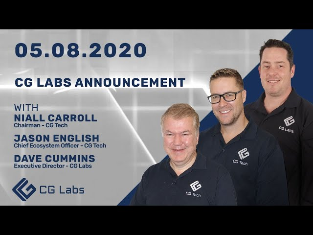 CG Labs Announcement