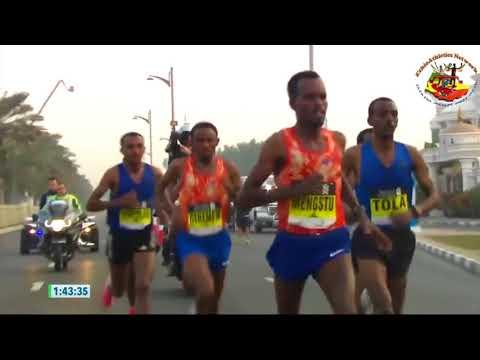 Dubai Marathon 2018 Men's Race (English)