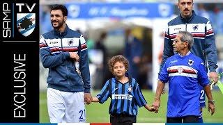 #vivilasamp: il presidente Ferrero e la Sampdoria celebrano la festa dei nonni