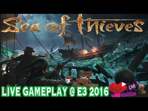 Sea of Thieves | Rare | Gameplay | E3 Expo 2016  | Xbox One | Live | Booth | Windows 10