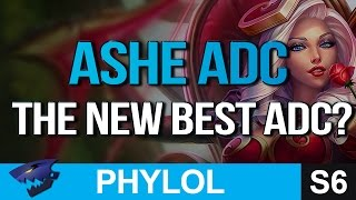 THE NEW BEST ADC ASHE Gameplay League of Legends
