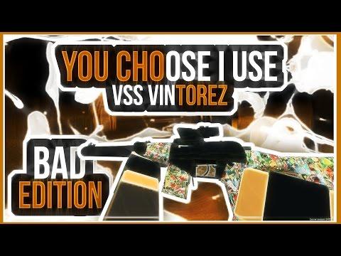 "Phantom Forces - You Choose I Use ""BAD EDITION""   The Dreaded VSS VINTOREZ"
