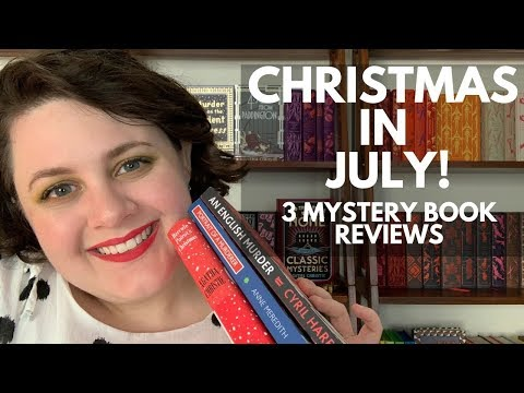 Christmas in July! | 3 Mystery Book Reviews