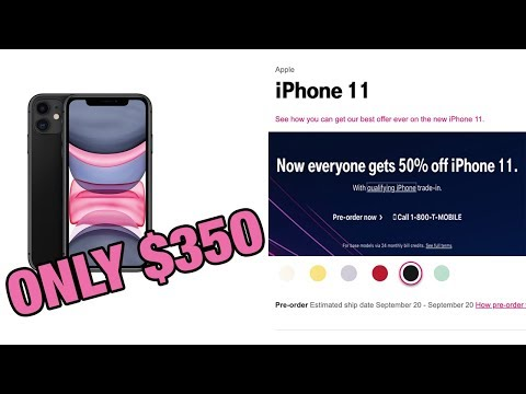 IPhone 11 (Pro Max) For 50% Off - Only $350! (T-Mobile Deal Explained)