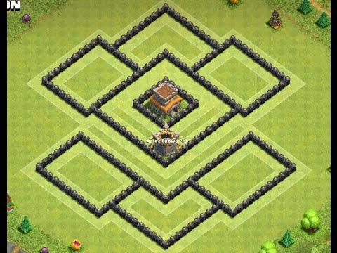Th8 defense base + replays | Diseño de aldea | Clash of clans