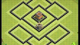 Th8 defense base + replays | Diseño de aldea | Clash of clans