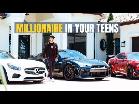 How To Become A Millionaire In Your Teens