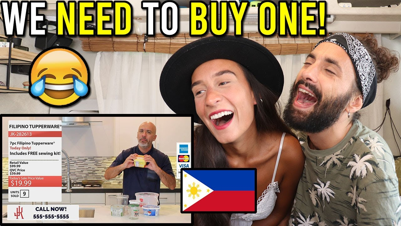 HILARIOUS Jo Koy's FILIPINO Tupperware! (Reaction)
