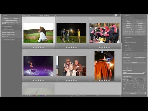 darktable 3.01 travail de vos photos