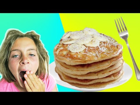 Thumbnail: How To Make Banana Pancake Recipe With Chef Ava | Breakfast In Bed | Kids Cooking and Crafts
