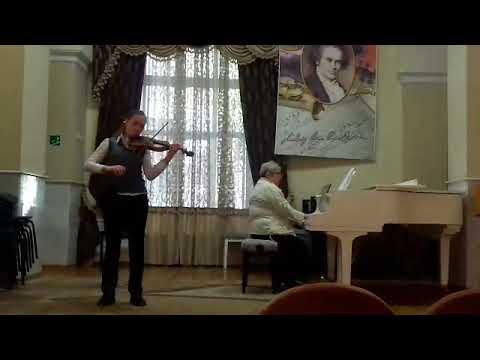 Детская музыкальная школа 1 город Харьков Рондо Л.В.Бетховен