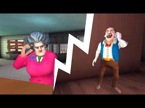 Свидание ЧЕРВЯКИ на УЖИН Прохождение игры Scary Teacher 3D