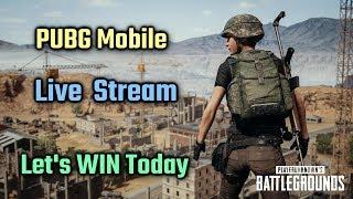 PUBG Mobile Live Stream | Let