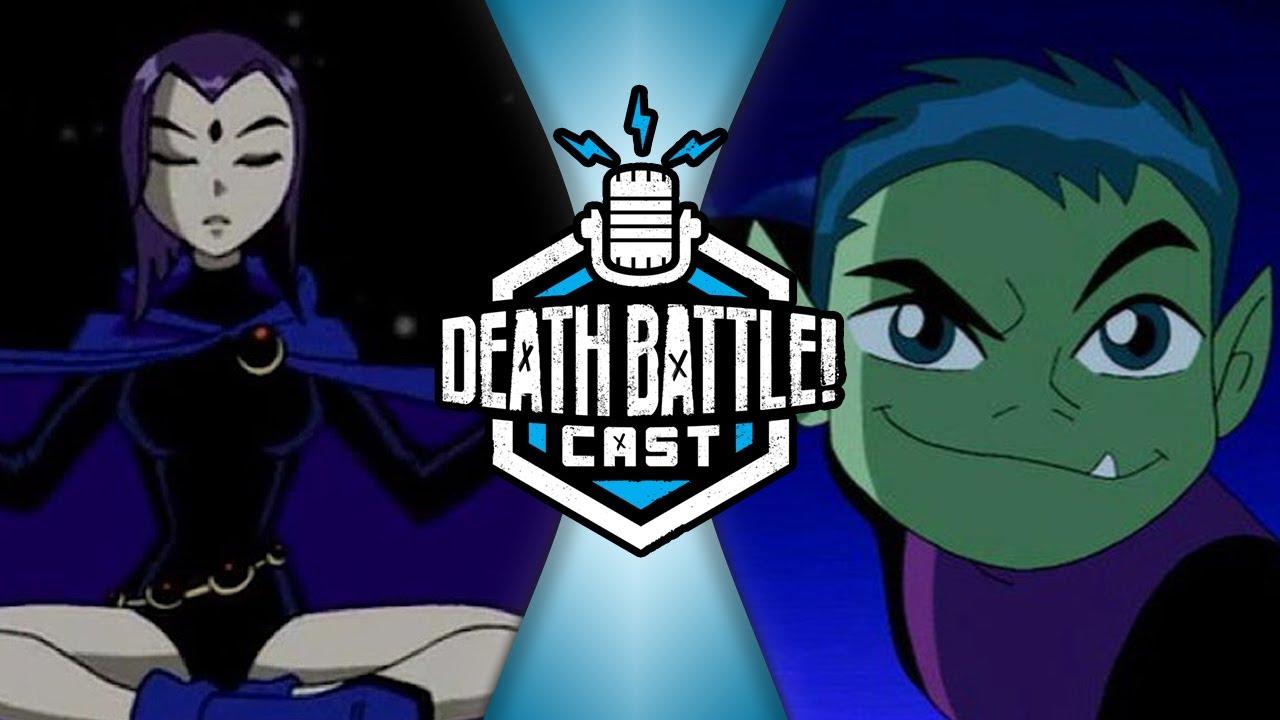 Raven vs Beast Boy | DEATH BATTLE Cast #218