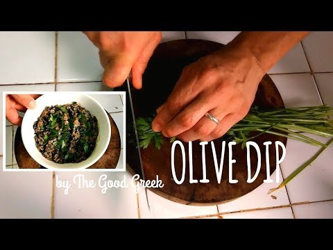 Olive Dip by The Good Greek