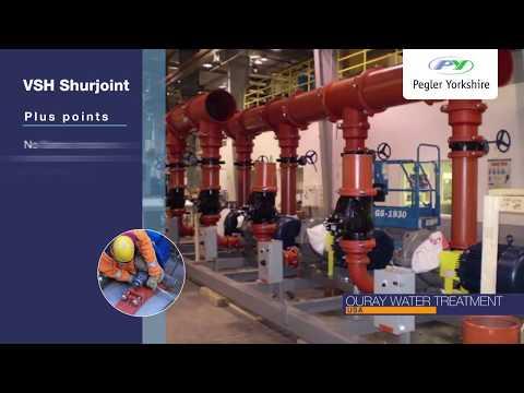 VSH Shurjoint: Grooved piping system for HVAC - YouTube