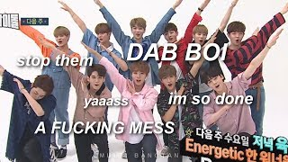 Video wanna one being a mess on weekly idol download MP3, 3GP, MP4, WEBM, AVI, FLV Oktober 2017