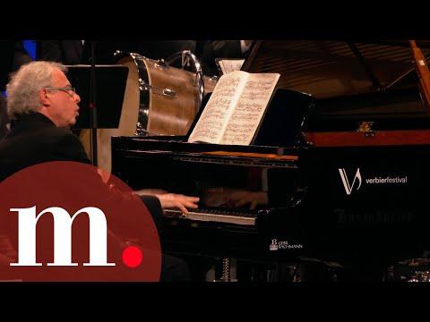 Sir András Schiff with Gábor Takács-Nagy - Bartók: Piano Concerto No. 1 at Verbier Festival 2019