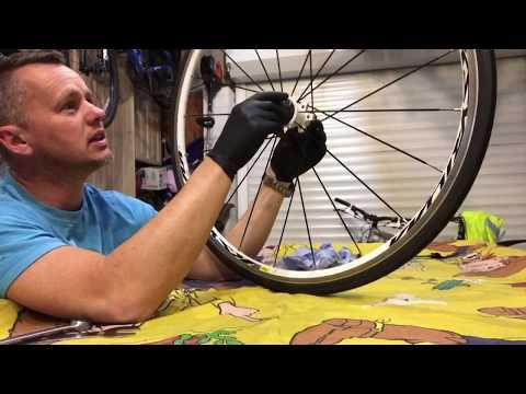 MAVIC KSYRIUM EQUIPE S freehub service, sealed wheel bearing lube