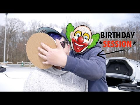 ** EVERY BMX BIRTHDAY SESSION SHOULD START LIKE THIS!**