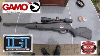 видео Пневматическая винтовка Gamo Black Fusion