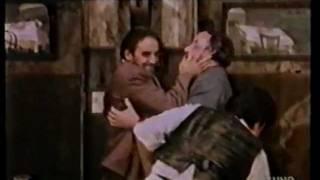 """Gassman, Proietti e Noiret in """"Due pezzi di pane"""" di Sergio Citti (1979)"""