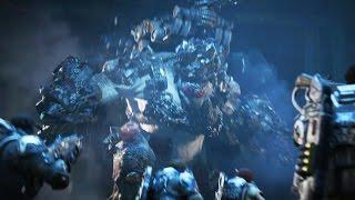 Gears of War 4: The Speaker and Swarmak Boss Fight (4K 60fps)