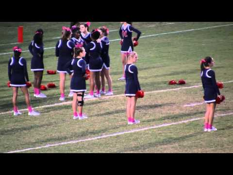 Manatee High School Cheerleaders Wearing Pink Socks