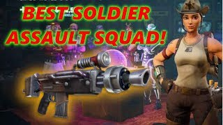 BEST SOLDIER CLASS AFTER HERO REWORK!! // Fortnite Save The World