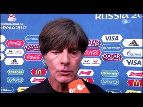 Joachim Löw ZDF post-match interview - Deutschland v Mexiko (Confed Cup 2017)