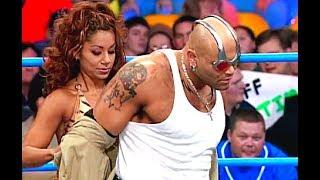 (720pHD): WCW Nitro  01/15/01 - Konnan (w/Tygress) vs. Mike Awesome