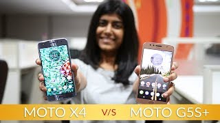 Moto X4 vs Moto G5s Plus: Moto X4 offers better Processor than Moto G5s Plus