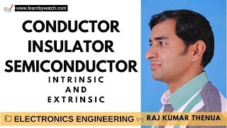 Conductor, Insulator, Semiconductor | Hindi/ Urdu | Electronics Engineering by Raj Kumar Thenua