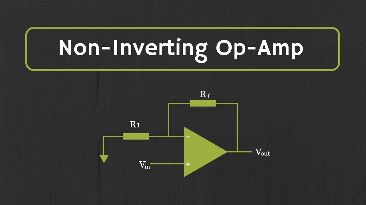 Operational Amplifier Non Inverting Op Amp And As Buffer Rf Stage Voltage Follower