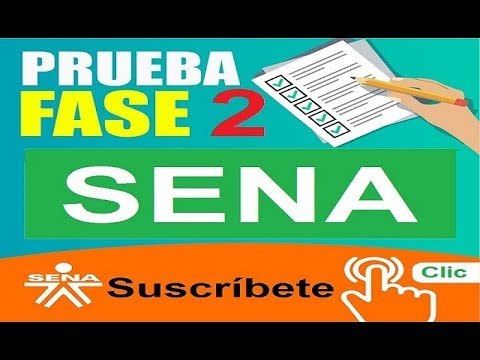 CONSEJOS PRUEBA SENA  FASE II  HD 21 11 2017